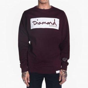 Diamond Supply Co. Radiant Box Logo Crewneck