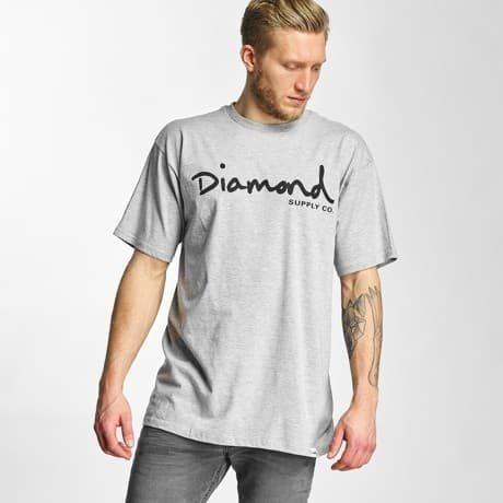 Diamond T-paita Harmaa