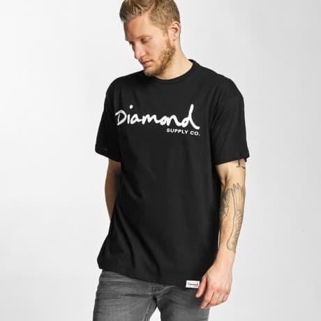 Diamond T-paita Musta