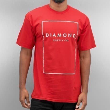 Diamond T-paita Punainen
