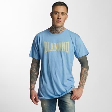 Diamond T-paita Sininen