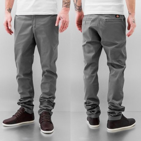 Dickies Chinot Harmaa