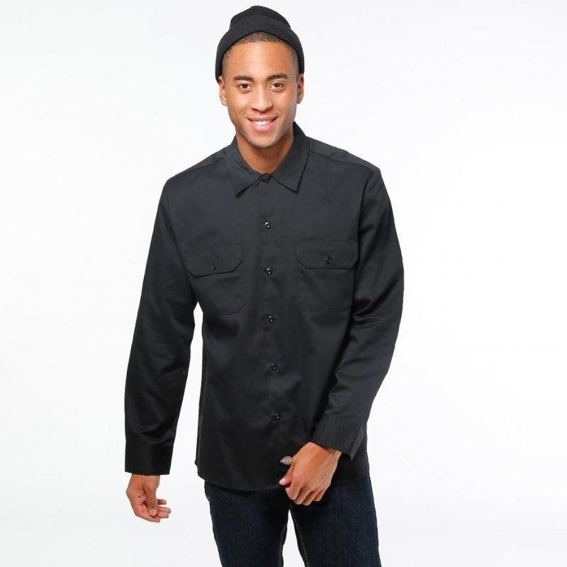 Dickies Slim Long Work Shirt -paita