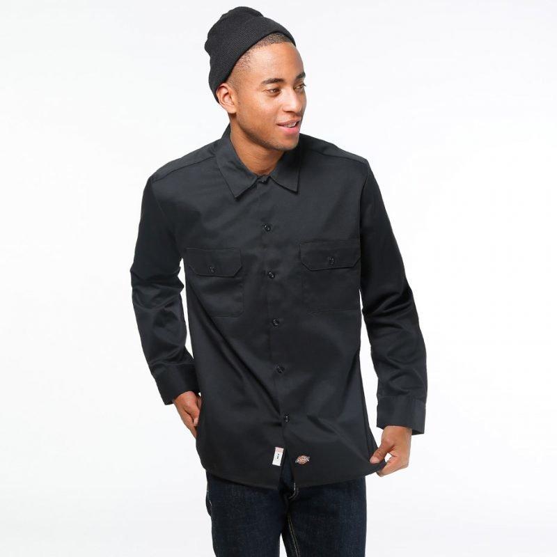 Dickies Slim Work Shirt -kauluspaita