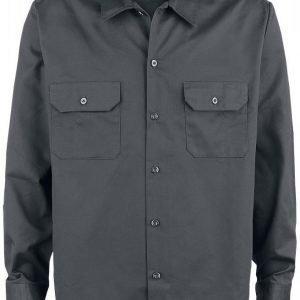 Dickies Work Shirt Long Sleeve Kauluspaita
