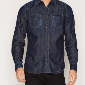 Diesel New-Sonora Shirt Kauluspaita Denim