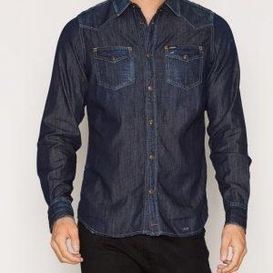 Diesel New-Sonora Shirt Kauluspaita Denim