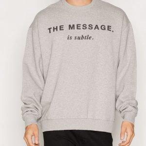 Diesel S-Pond-GR Sweatshirt Pusero Light Grey Melange