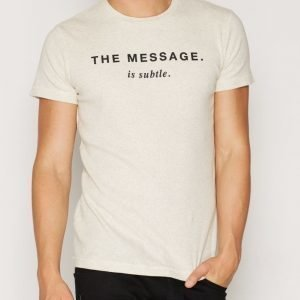 Diesel T-Diego-HG T-shirt T-paita Light Grey Melange