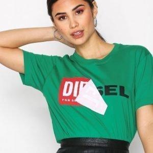 Diesel T-Diego T-Shirt T-Paita Vivid Green