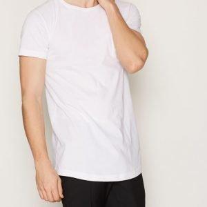 Diesel T-Longer LLS T-shirt T-paita Bright White