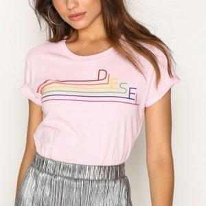 Diesel T-Sully-Long-I T-Shirt T-Paita Pink