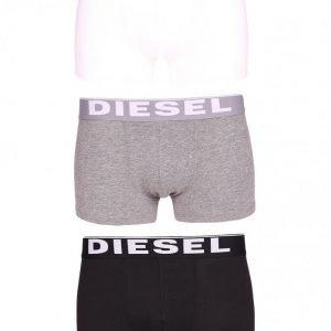 Diesel UMBX-Kortythreepack Boxer Bokserit White/Grey/Black