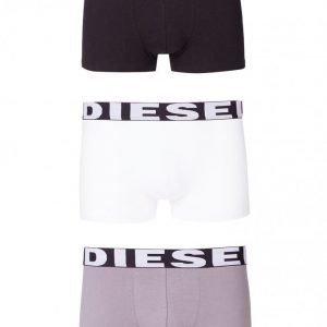 Diesel UMBX-Shawnthreepack Boxer Bokserit White/Grey/Black