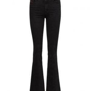 Diesel Women Skinzee-Flare H L.34 Trousers leveälahkeiset farkut