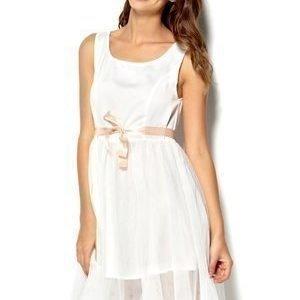 Diis Smultron Dress Kermanvalkoinen