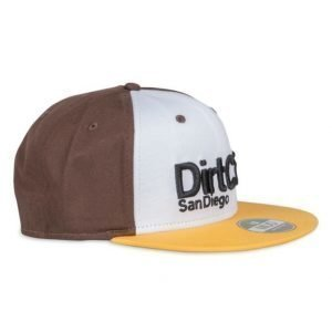 Dirt Cult Ventura White/Brown/Yellow