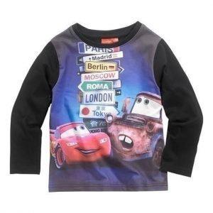 Disney Cars T-paita Musta Kuvioitu