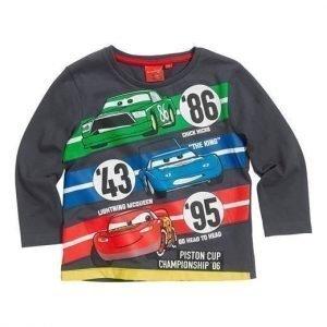Disney Cars T-paita Siniharmaa