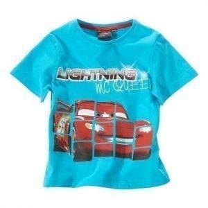 Disney Cars T-paita Turkoosi