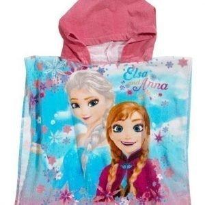 Disney Frozen Poncho Roosa Kuvioitu