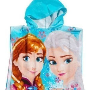 Disney Frozen Poncho Sininen Kuvioitu