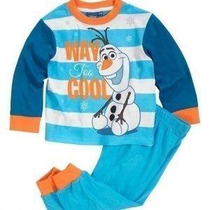 Disney Frozen Pyjama Petroli Sininen