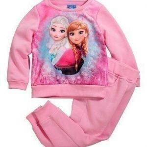 Disney Frozen Svetarisetti Roosa