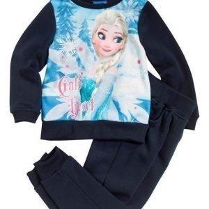 Disney Frozen Svetarisetti Tummansininen