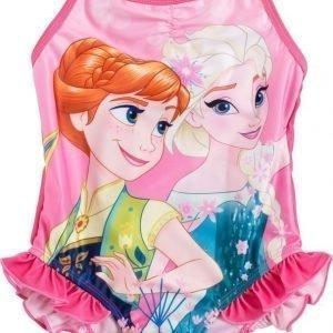 Disney Frozen Uimapuku Vaaleanpunainen
