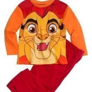 Disney Lejonkungen Pyjama Oranssi Punainen