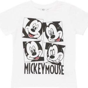 Disney Mickey Mouse Disney Mickie Mouse T-paita White