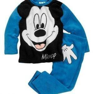 Disney Mickey Mouse Fleecesetti Sininen Musta