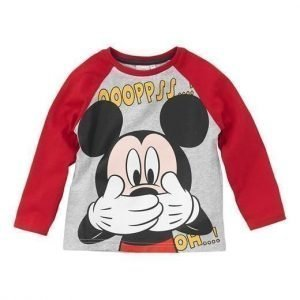 Disney Mickey Mouse T-paita Punainen
