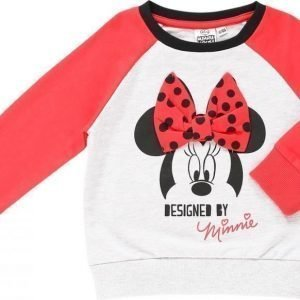 Disney Minnie Mouse Collegepusero Black/Red