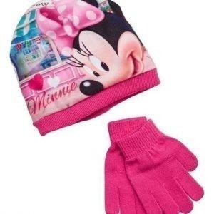 Disney Minnie Mouse Myssy + lapaset Kirsikka