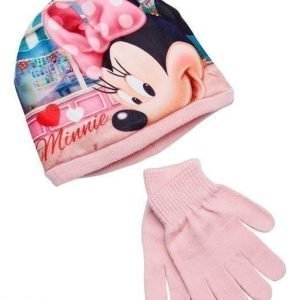 Disney Minnie Mouse Myssy + lapaset Roosa