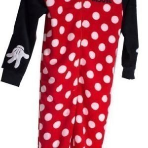 Disney Minnie Mouse One piece Fleece Punainen
