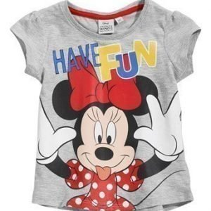 Disney Minnie Mouse Paita Mel. harmaa