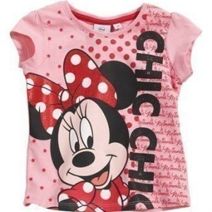 Disney Minnie Mouse Paita Roosa