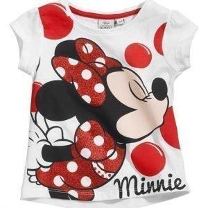 Disney Minnie Mouse Paita Valkoinen