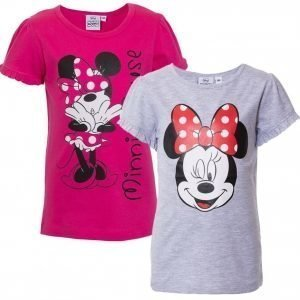 Disney Minnie Mouse Pusero 2 kpl Cerise/Grey