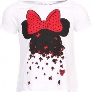 Disney Minnie Mouse T-paita Valkoinen