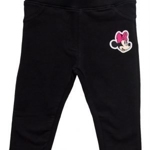 Disney Minnie Mouse Treggingsit Vauvan Musta