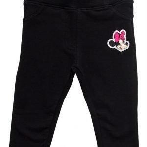 Disney Minnie Mouse Treggingsit Vauvan Musta