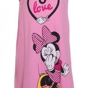 Disney Minnie Mouse Yöpaita Vaaleanpunainen