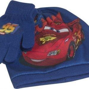 Disney Pixar Cars Pipo ja sormikkaat Setti Sininen