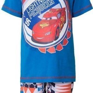 Disney Pixar Cars T-paita ja shortsit Blue