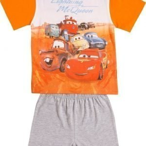 Disney Pixar Cars Yöpuku Orange/Grey Melange