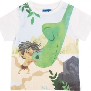 Disney Pixar The Good Dinosaur T-paita White